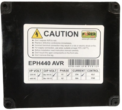 AVR EPH440D with Voltage Display