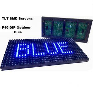 Blue P10 Dip Single Color